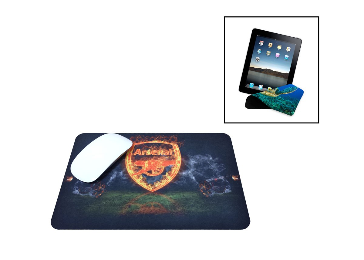 "Full Color (4CP) - Microfiber Mouse Pad (7"" x 8"")"