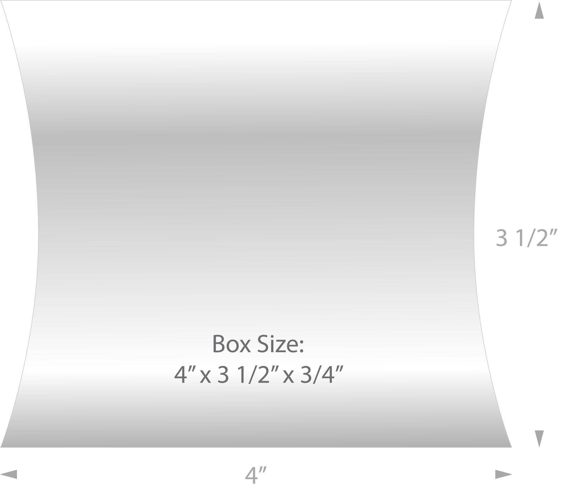 Pillow Box for MicroFiber Cloths