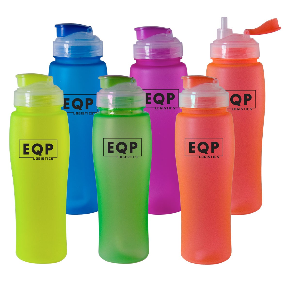 Silicone Coated 23oz Sport Bottle
