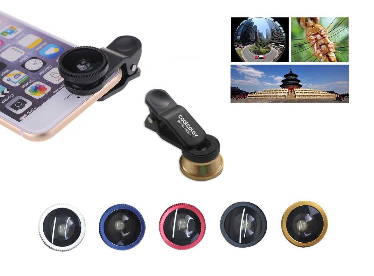 Universal 3 in 1 Mobile Lens Kit: Selfie