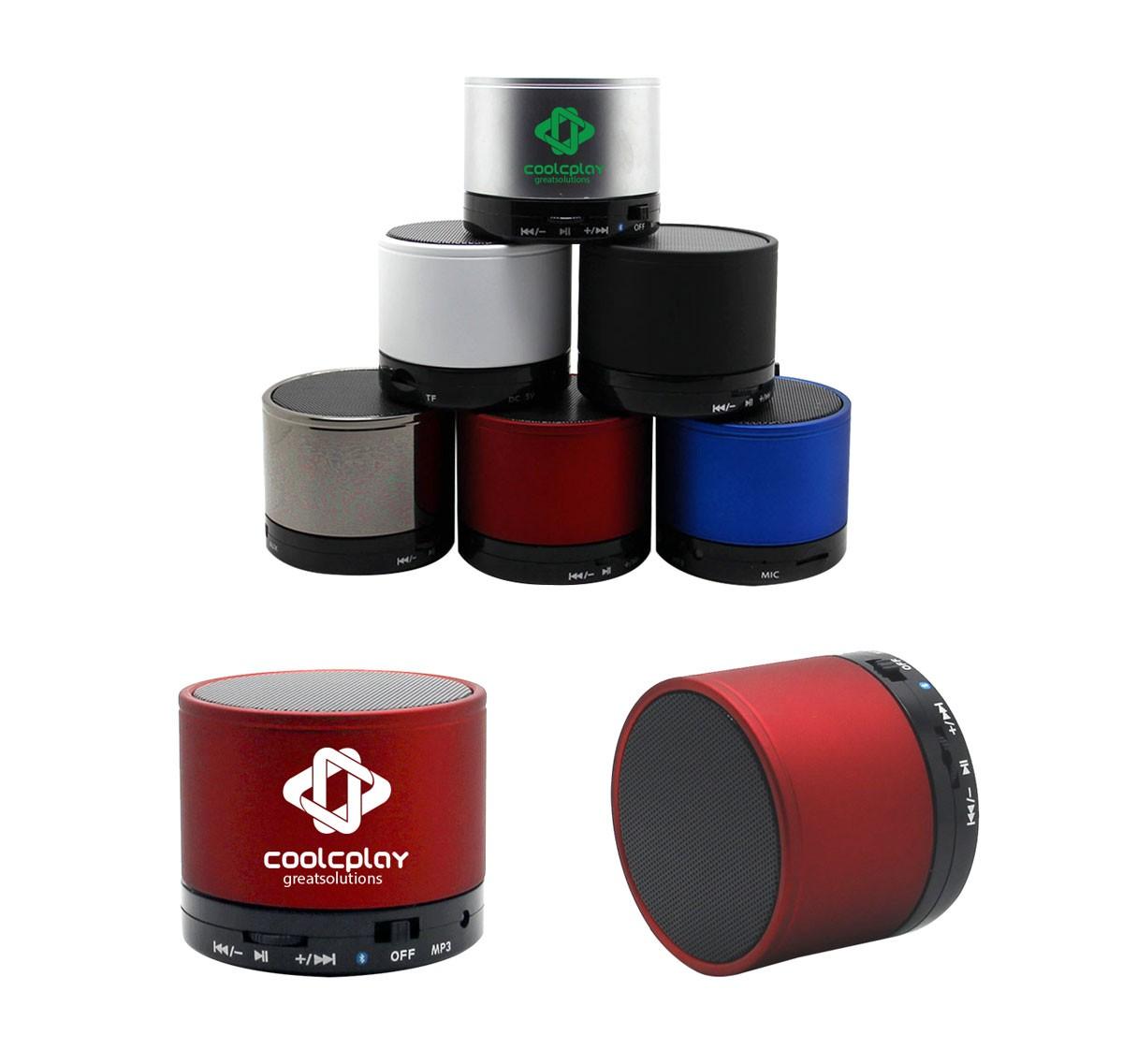 Stainless Steel Bluetooth Speaker