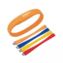 8GB Silicone Bracelet USB Flash Drive