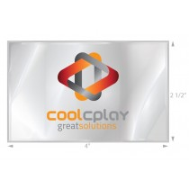 Business Card Size Full Color Printed PVC Pouch for MicroFiber Cloths