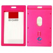 Vertical ID Badge Card Holder