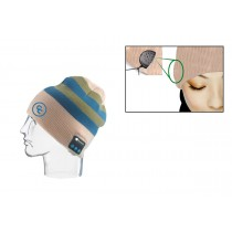 Beanie w/ Built-in Bluetooth Wireless Headphones (Embroidered Imprint)