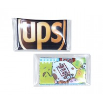Clear Business Card size PVC Pouch for MicroFiber Cloths