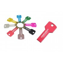 128 MB Metal Key Shaped USB Flashdrive