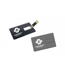 128 MB Credit Card Shape USB Flashdrive