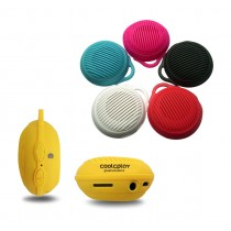 Round Portable Bluetooth Speaker